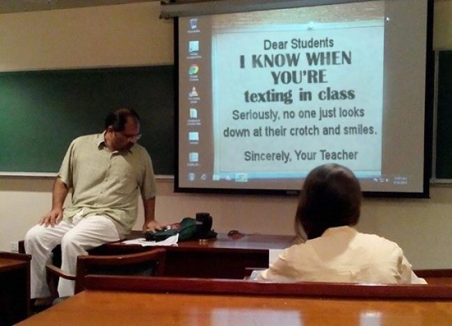 Trò đùa của những thầy cô vui tính nhất thế giới