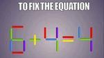 Bài toán que diêm hấp dẫn hàng ngàn lời giải