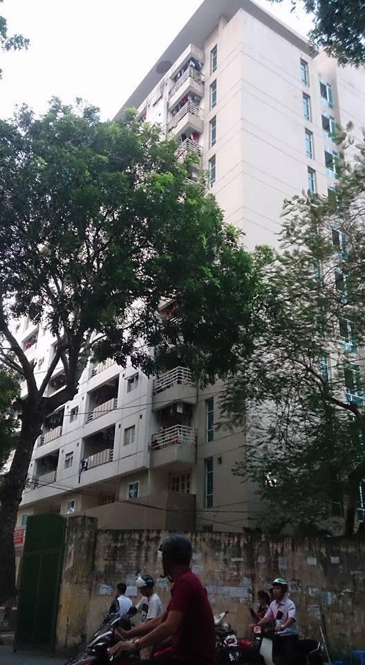 Hà Nội: Nam sinh rơi từ tầng 7 ký túc xá tử vong