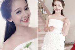 Cô gái Chăm đẹp hút hồn với váy cưới làm từ giấy ăn