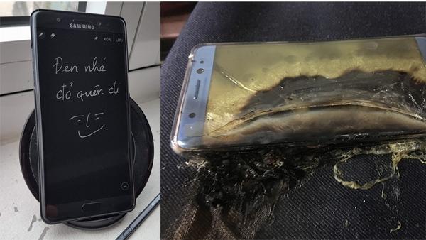 [VietnamNet.vn] Fan cuồng Galaxy Note 7 quyết 'ôm bom' không trả máy