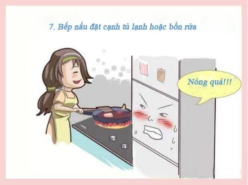 10 cấm kị phong thủy nhà bếp cần hóa giải khẩn cấp