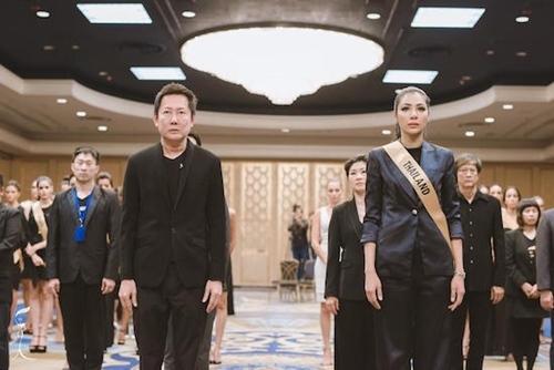 Nguyễn Loan, Miss Grand International, Hoa hậu Hoà bình Thế giới, đức vua Thái Lan, Bhumibol Adulyadej