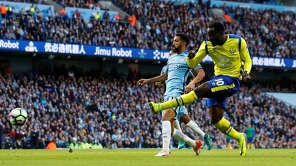 Video bàn thắng Man City 1-1 Everton
