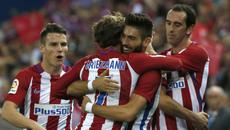 "Simeone ra oai, Atletico thắng ""7 sao"" trong ngày lịch sử"