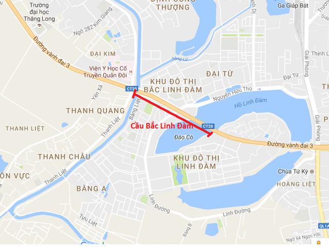 Xây cầu vượt Hồ Linh Đàm, hàng vạn dân thoát cảnh tắc sớm tối