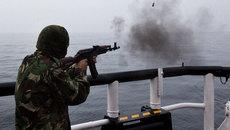 Biên phòng Nga bắn vào tàu cá Triều Tiên