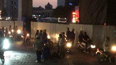 Hà Nội: 1 công nhân rơi từ ga đường sắt trên cao xuống đất
