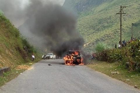 Cháy ô tô