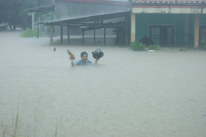 miền Trung, lũ lụt, ủng hộ, kêu gọi, hoàn cảnh khó khăn, Quảng Bình, Hà Tĩnh
