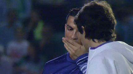 Choáng: Ronaldo phải dùng thuốc trước khi thi đấu