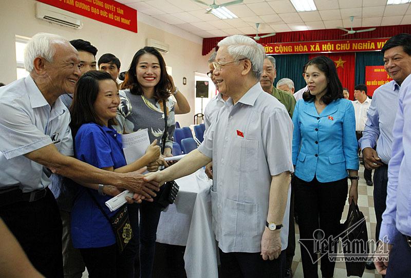 Tổng bí thư Nguyễn Phú Trọng, chống tham nhũng