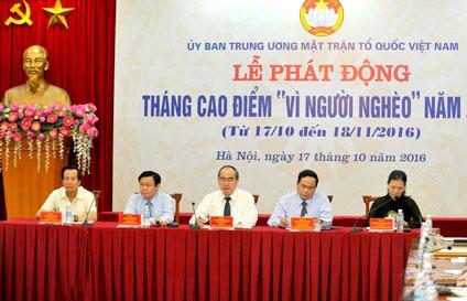 Chủ tịch QH, Chủ tịch MTTQ kêu gọi ủng hộ miền Trung