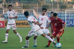 Video bàn thắng U19 Việt Nam 1-1 U19 UAE