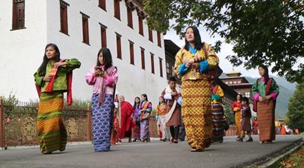 Bhutan - lễ hội mùa thu nhìn không chán mắt - ảnh 17