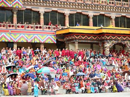 Bhutan - lễ hội mùa thu nhìn không chán mắt - ảnh 19