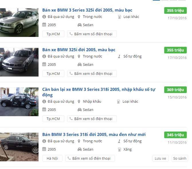 Xe sang cũ 300 triệu: Bán rẻ vẫn hiếm người mua