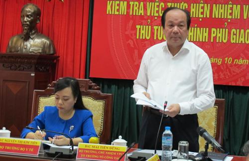 Bộ trưởng Y tế: Thuyết trình 15 phút để chọn Thứ trưởng