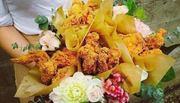 Quà tặng độc đáo ngày 20/10: 'Bó hoa' làm từ đồ ăn
