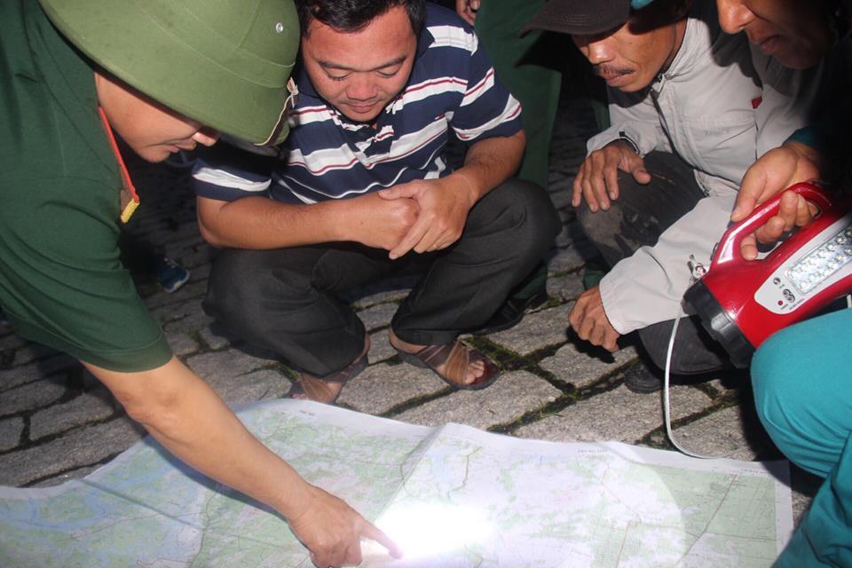 Hình ảnh khẩn trương tìm kiếm trực thăng rơi ở Vũng Tàu