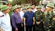 Phó Thủ tướng Trịnh Đình Dũng kiểm tra chống bão số 7