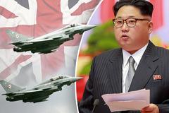 Anh điều chiến cơ đến Hàn, Jong Un nổi giận