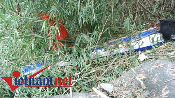 Cận cảnh hiện trường máy bay rơi ở Vũng Tàu - ảnh 6