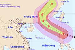 Siêu bão Haima chuẩn bị vào biển Đông thành bão số 8
