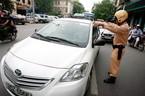 Từ 1/11, lái xe đè vạch liền bị phạt 200.000 đồng