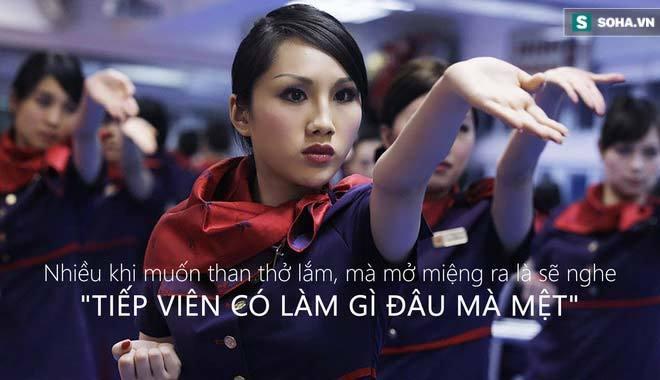'Tiếp viên hàng không, họ cũng cô độc lắm'