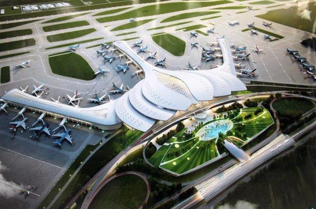 kiến trúc nhà ga hành khách, sân bay Long Thành, xây sân bay, đồng nai, ngàn tỷ