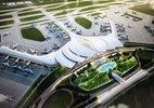 Nhà ga sân bay Long Thành có hình dáng như thế nào?