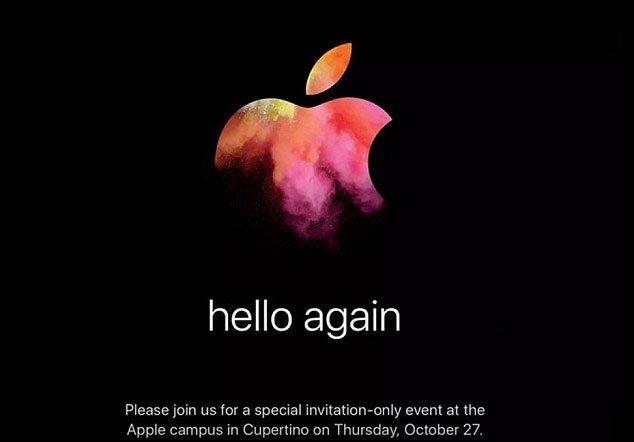 Apple sẽ cho ra mắt Macbook mới vào 27/10