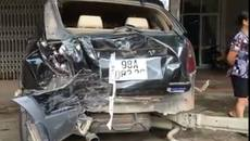 Bắc Giang: Bé 13 tuổi lái xe, gây tai nạn liên hoàn