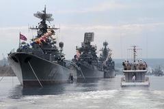 Putin triển khai tàu chiến rầm rộ nhất kể từ Chiến tranh Lạnh