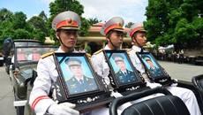 Lễ viếng, truy điệu 3 phi công hy sinh