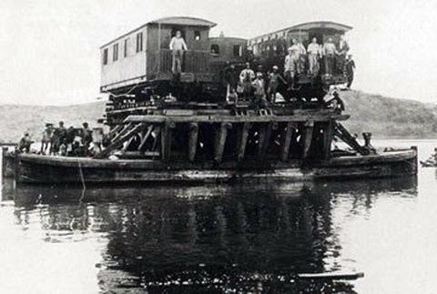 đường sắt, tuyến xe lửa đầu tiên, Ga SG-Mỹ Tho, cõng tàu qua sông
