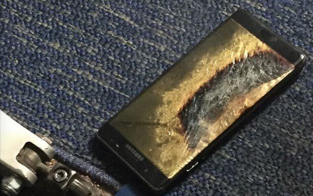 Samsung, Galaxy Note 7, cháy nổ, lỗi pin, bom nổ chậm