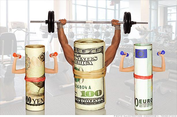 Tỷ giá ngoại tệ ngày 22/10: USD lấy đà lên đỉnh mới