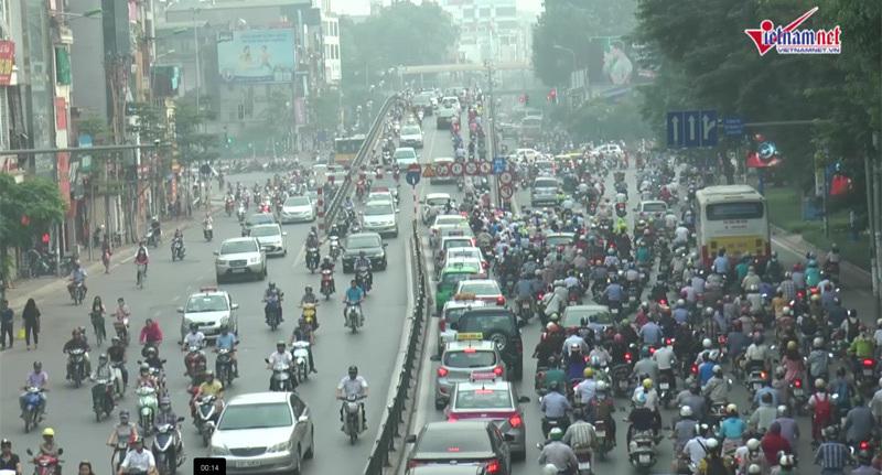 Cấm taxi,  cầu vượt Láng Hạ - Huỳnh Thúc Kháng, Tin tức giao thông, An toàn giao thông, ATGT
