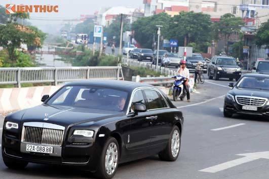 Xôn xao dàn siêu xe sang trăm tỷ rước dâu tại Tuyên Quang