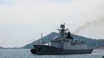 Lần đầu tiên, 3 tàu hải quân Trung Quốc thăm Cam Ranh