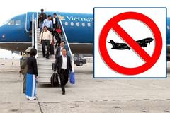 Tung tin mang bom, đánh nhân viên hàng không: Lập tức cấm bay