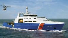 Bộ Tư lệnh Cảnh sát biển Việt Nam bàn giao tàu đa năng 2000