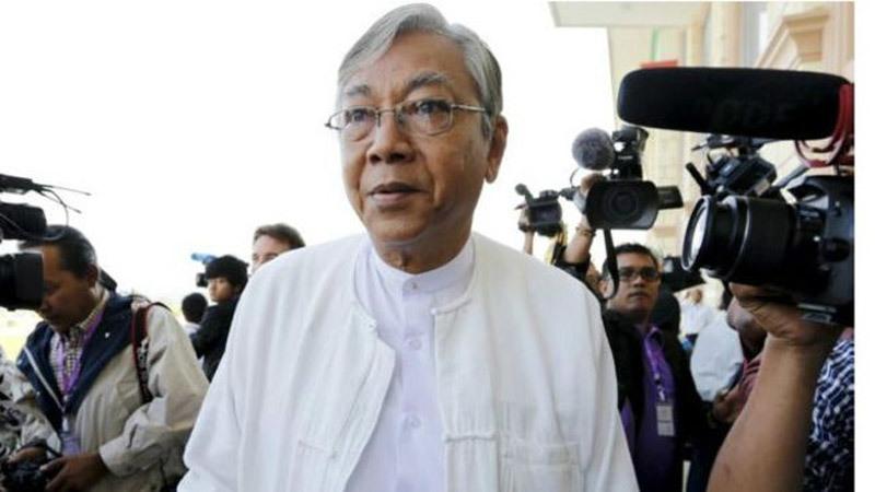Chủ tịch nước Trần Đại Quang, Tổng thống Myanmar Htin Kyaw