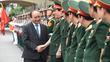 Không chấp nhận tư tưởng 'phi chính trị hóa' lực lượng vũ trang