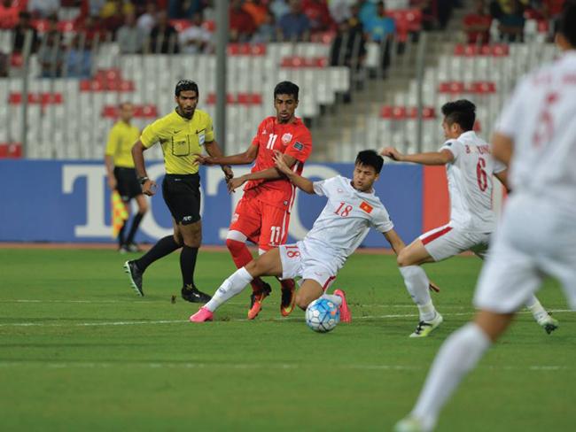 U19 Việt Nam, U19 Bahrain, VCK U19 châu Á, Giành quyền dự FIFA U20 World Cup , giành quyền dự VCK U20 Thế Giới