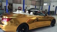 Xe sang tiền tỷ Lexus IS 350C 'mạ vàng' tại Hải Phòng