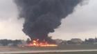 Máy bay chở quan chức EU rơi