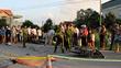 Đối đầu xe máy tại khúc cua, 2 người tử vong